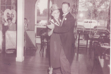 Couple Dancing, Formal Wear