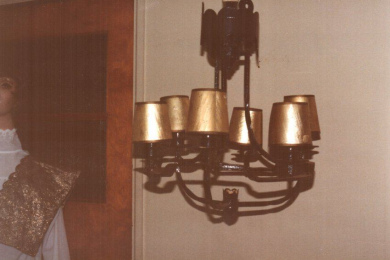 Sconce from Hotel