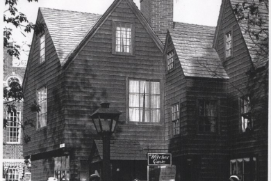 House of Seven Gables from Colonial Village, Chicago World's Fair
