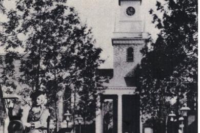 Old North Church, Colonial Village, Chicago World's Fair
