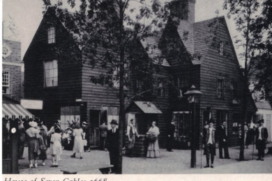 House of Seven Gables, Colonial Village, Chicago World's Fair