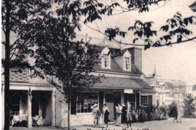 Ben Franklin's Print Shop, Colonial Village, Chicago World's Fair