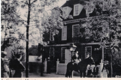 Governor's Mansion, Colonial Village, Chicago World's Fair