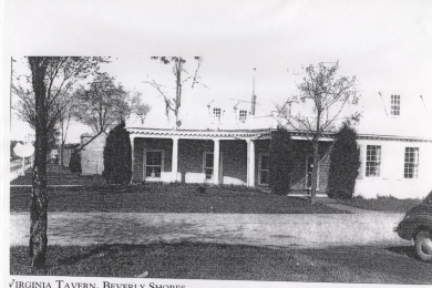 Virginia Tavern in Beverly Shores from Colonial Village, Chgo World's Fair