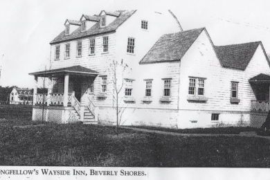 Longfellow's Wayside Inn, Beverly Shores, from Colonial Village,Wrld Fair