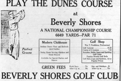 Play the Dunes course ad