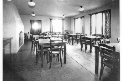 Clubhouse interior photo 1