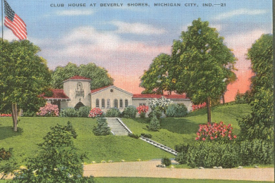 Clubhouse post card