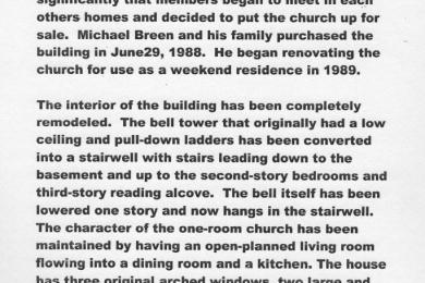 church description 2 of 2