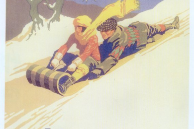 Winter Sports in the Dunes
