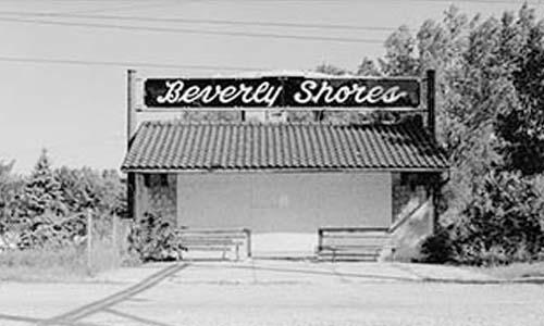 Beverly Shores South Shore Train Depot