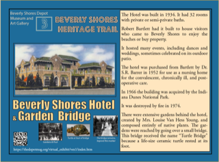 beverly shores heritage trail